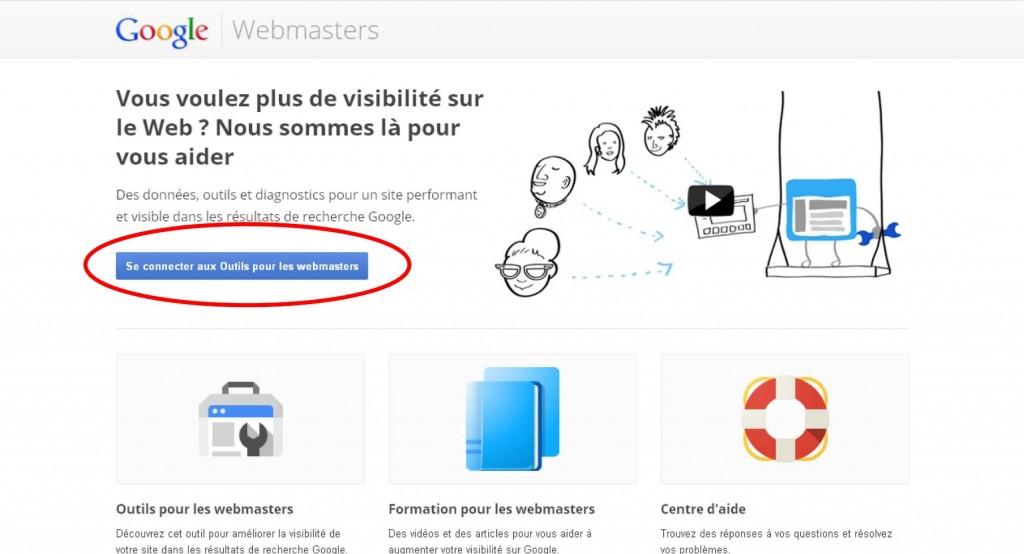 Interface outils pour les Webmasters