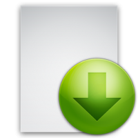 Un lien de fichier téléchargeable