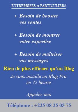 Commandez votre blog maintenant